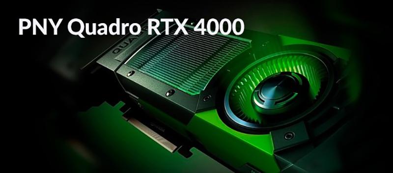PNY Quadro RTX 4000 | NVIDIA Turing | Rendering | PNY Quadro